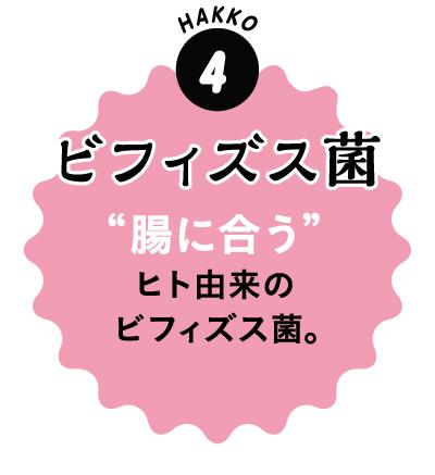 4.ビフィズス菌