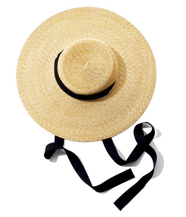 MATURE HA. spring straw hat