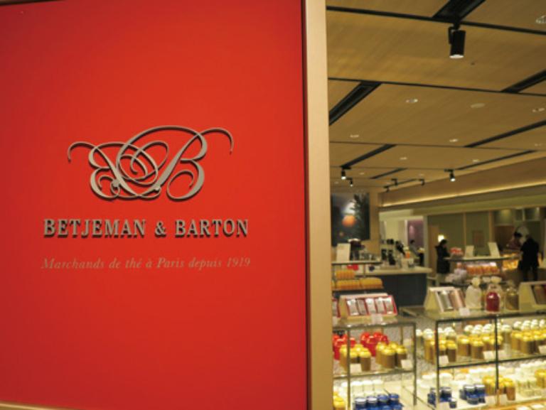 BETJEMAN & BARTON GINZA SIX店