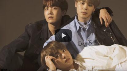 【BTS×anan】No.2097 J-HOPE/JIMIN/V BTS(防弾少年団)撮影メイキング動画!