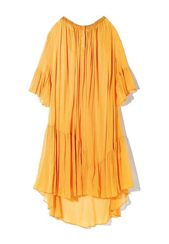 AEVES saffron day dress