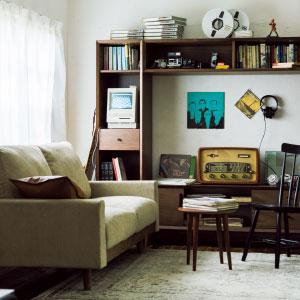 ヴィンテージと楽しむ暮らし、デザインと空気が時間の流れを超える。