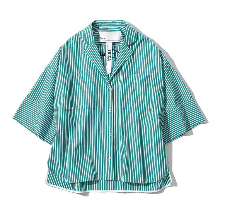 TICCA lettered shirt