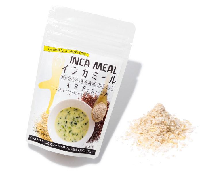 インカミールキヌアのスープ粥 ¥420(40g)アルコイリス☎047・711・5041 http://www.inkacocina.com