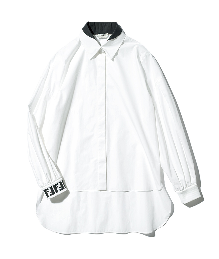 FENDI brand-new logo shirt