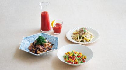 酸味の力を旬の野菜料理に活かし、おいしく健康に夏を乗り切る。  クロワッサン 第一特集のご紹介 No.976