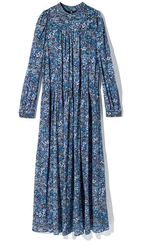 DIEU TRISTESSE liberty flower dress