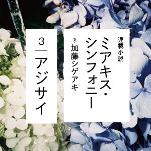加藤シゲアキ「ミアキス・シンフォニー」第3話は9/5発売号に掲載です!
