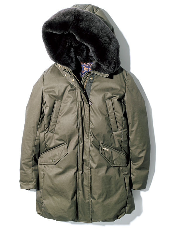 WOOLRICH cocoon parka
