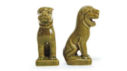 香取神宮の狛犬 みやげもんコレクション287 BRUTUS No.882