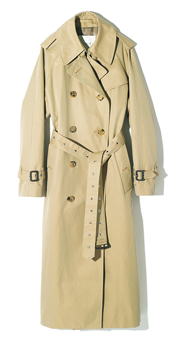 MACKINTOSH FOR TOMORROWLAND trench coat for anniversary