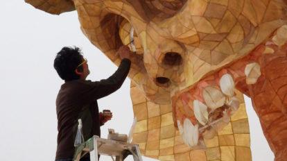 日本美術は、会田さんのインスピレーション源です。 From Editors No.886