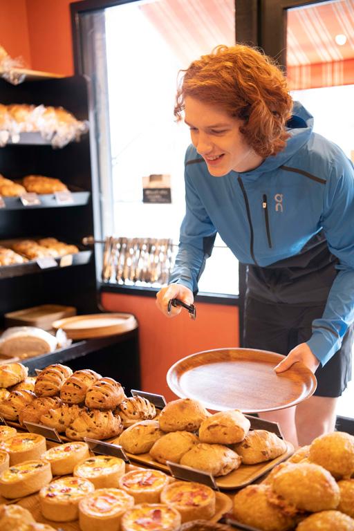 美味しいパン屋さんがある道をランニングコースにしてみては?