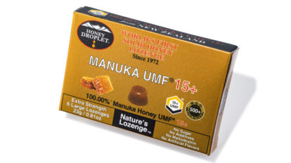 「ハニードロップレット マヌカハニーUMF® 15+」ananカラダに良いものカタログ