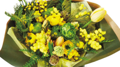 FLOWER SHOP&BOUQUET GUIDE 春の花束を買いに。 Special Contents BRUTUS No.890