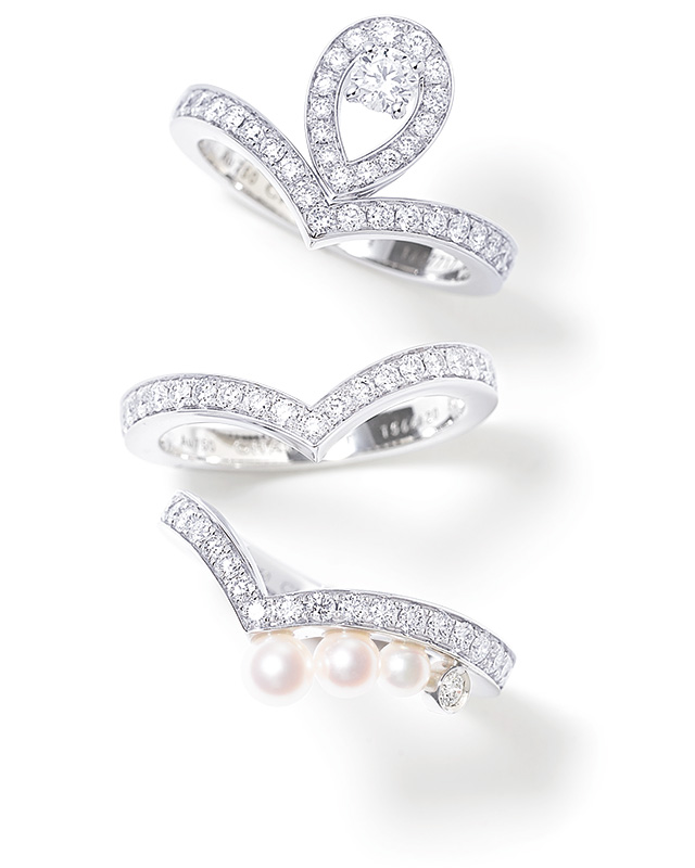 CHAUMET sweet layering ring