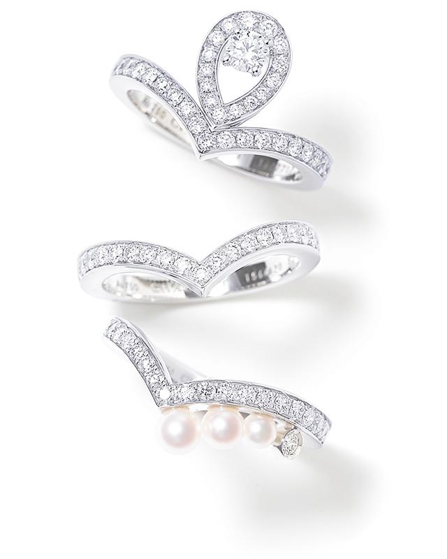 CHAUMET sweet layering ring
