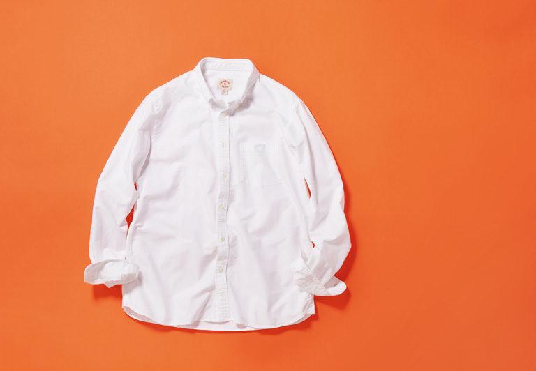 白のB.D.シャツはディテールが命。