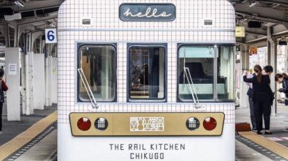 福岡の魅力を乗せたレストラン列車「THE RAIL KITCHEN CHIKUGO」でおいしい旅へ。