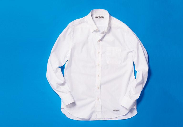 一枚で着て様になるブロードのB.D.シャツ。