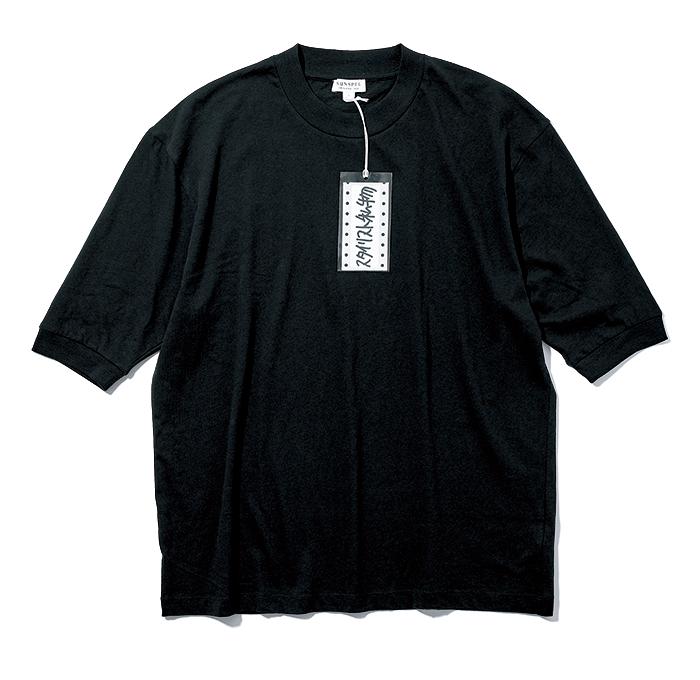 SUNSPEL & STYLIST SHIBUTSU black T-shirt for summer