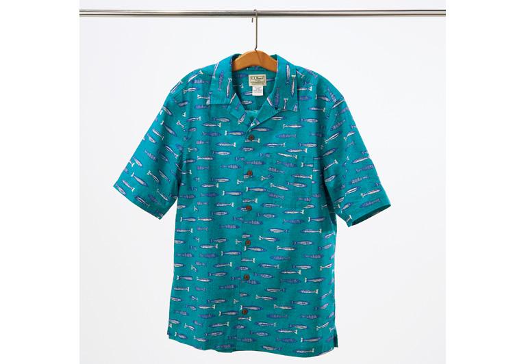 コンシャスな男には、トロピックシャツだ。