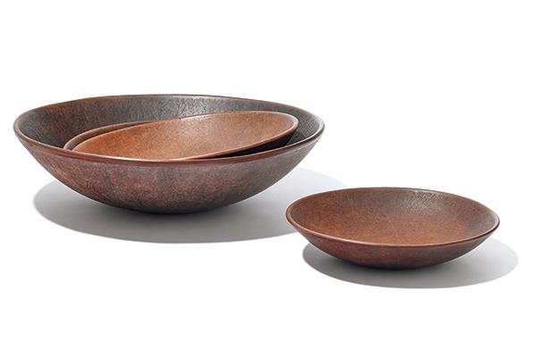 JOJI YOSHIMICHI leather bowl