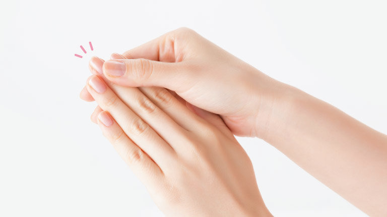 手や爪のケア・イメージ