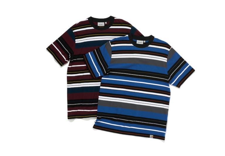 今の季節を詰め込んだボーダーシャツ。