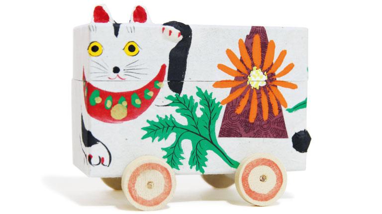 猫箱3,800円(さわはん工房☎0197・43・3397)。