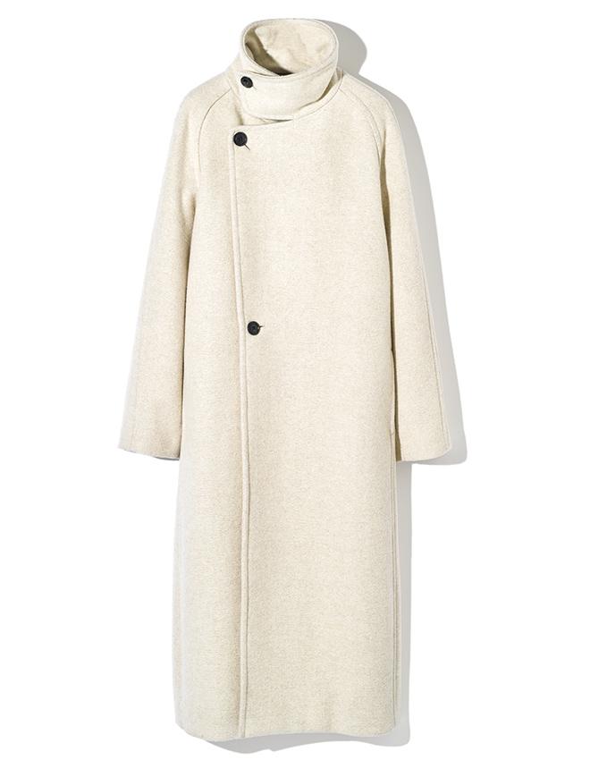 LOEFF ivory coat