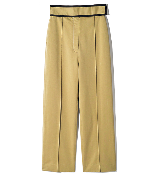 SEEALL belted chino pants