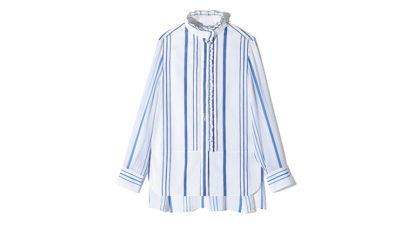 〈クロエ〉のコットンシャツほか3点を紹介。