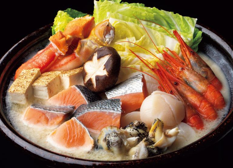 番屋の味「石狩鍋」/カネキタ北釧水産セット イメージ