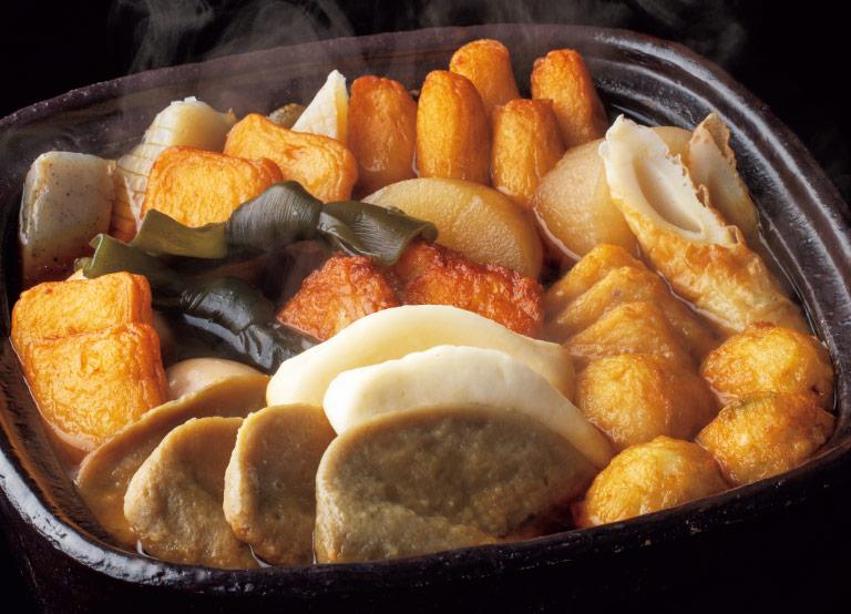 静岡おでんセットスープ付き/蒲菊本店 イメージ