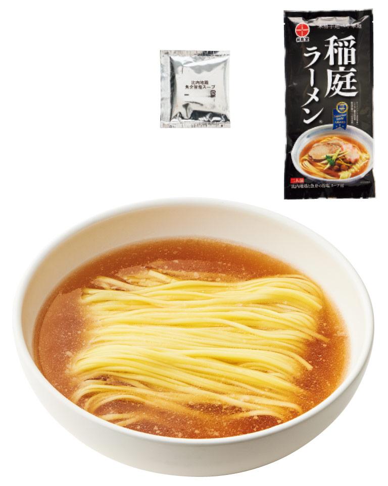 〈秋田の麺屋 林泉堂〉の稲庭ラーメン
