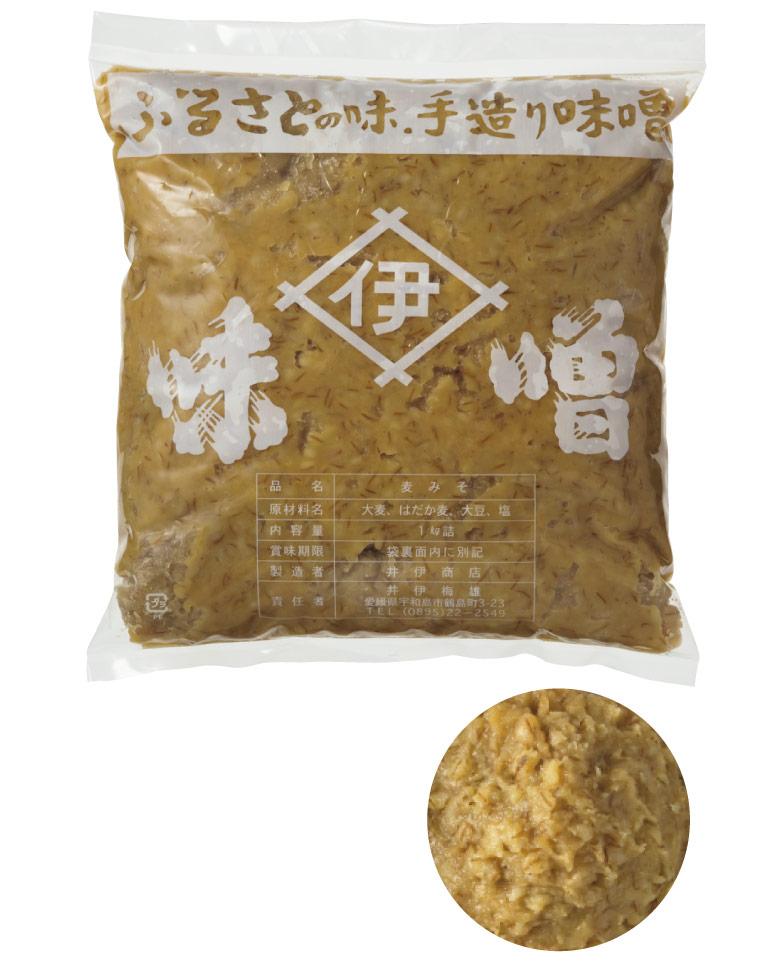 〈井伊商店〉の麦味噌