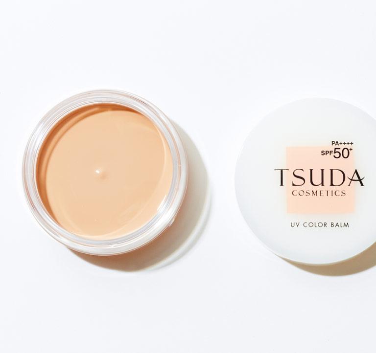 UVカラーバーム 全2色 SPF50+・PA++++ 各¥5,600 2月1日発売(ドクター津田コスメラボ☎0120・555・233)
