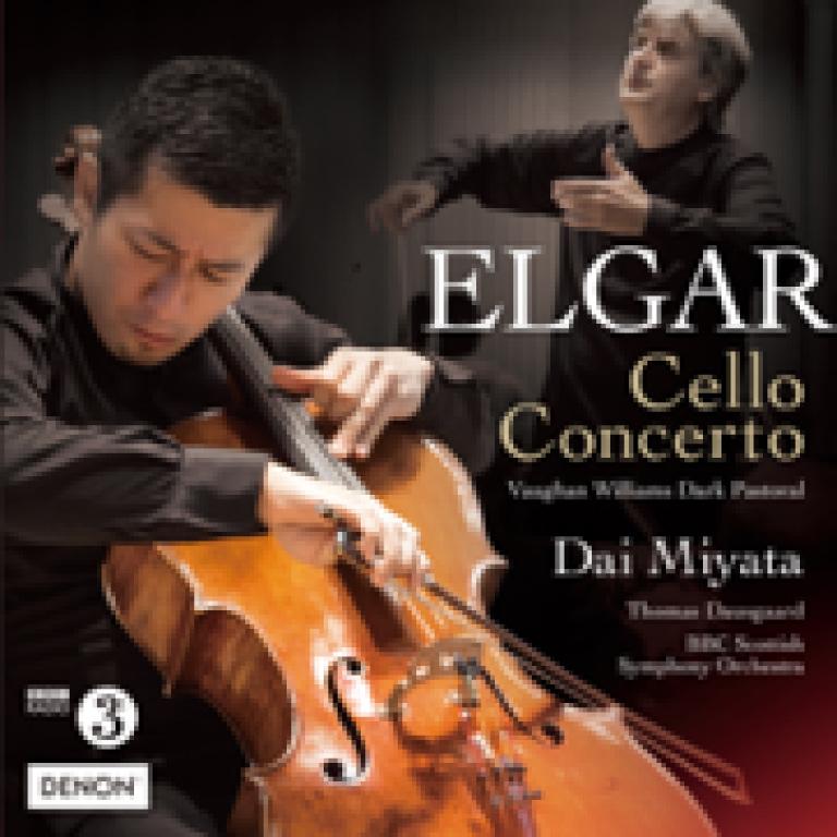 宮田大「エルガー:チェロ協奏曲/ヴォーン=ウィリアムズ:暗愁のパストラル」日本コロムビア