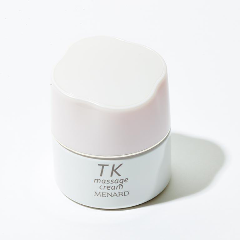 TK マッサージクリーム 80g¥3,000(メナード☎0120・164601)