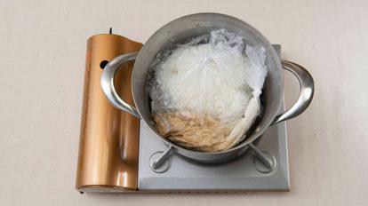 カセットコンロとポリ袋でつくる、 炊きたてのごはんの美味しさにびっくり!  クロワッサン 編集部こぼれ話 No.1028