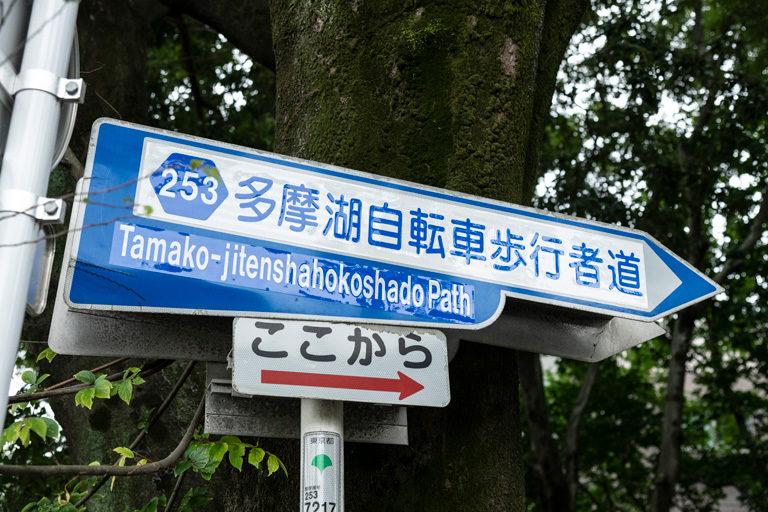 「東京100km」 のコースGPS
