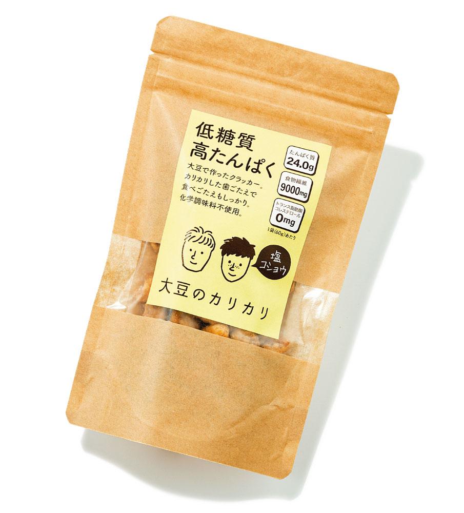 大豆のカリカリ(塩コショウ)¥508(税込み)ヤマサン☎0120・31・4700 https://www.803yamasan.jp