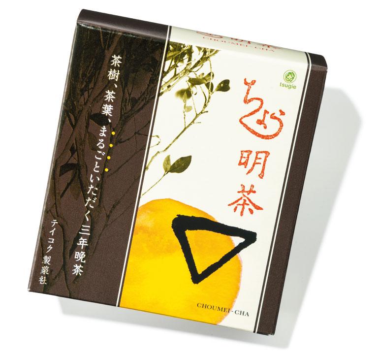 ちょう明茶 ¥1,960(28包入り) テイコクオンラインストア☎0120・86・3734 https://www.rakuten.ne.jp/gold/choumeicha/
