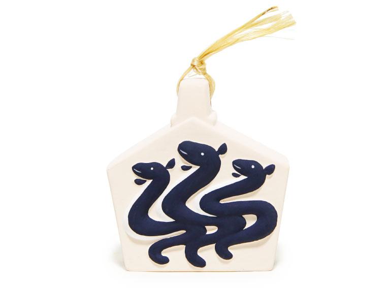 鰻土鈴3,000円(三嶋神社☎075・531・5012)。