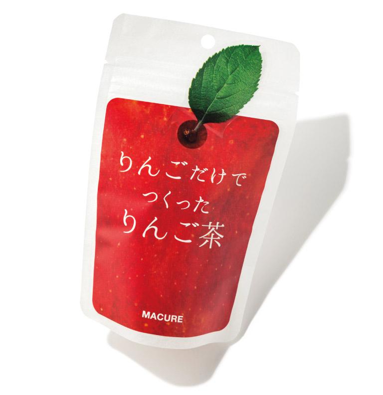 りんご茶 ¥540(5包入り) マキュレハウス☎0800・800・2478 https://macurehouse.com