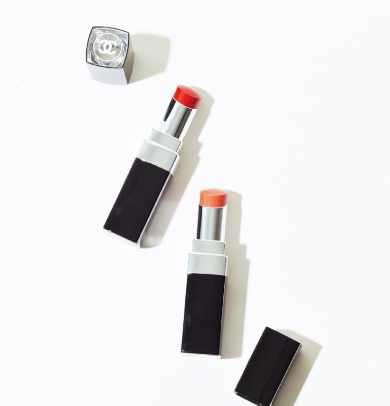 ルージュ ココ ブルーム(右から110、134)各¥4,730 4/9発売(シャネル☎0120・525・519)