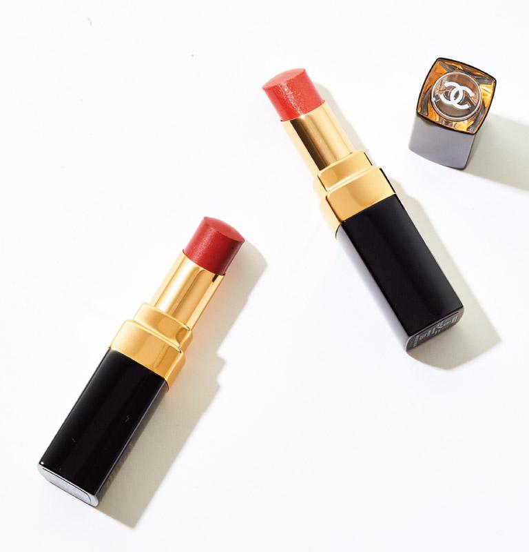 ルージュ ココ フラッシュ(右から162、164)各¥4,730 5月21日発売(シャネル☎0120・525・519)