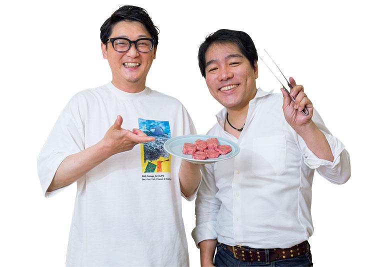 (左)高山いさ己 (右)松浦達也