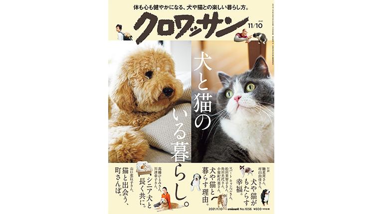 犬と猫のいる暮らし。 — croissant (クロワッサン)  — 女の暮らし方 男の暮らし方 — マガジンハウス